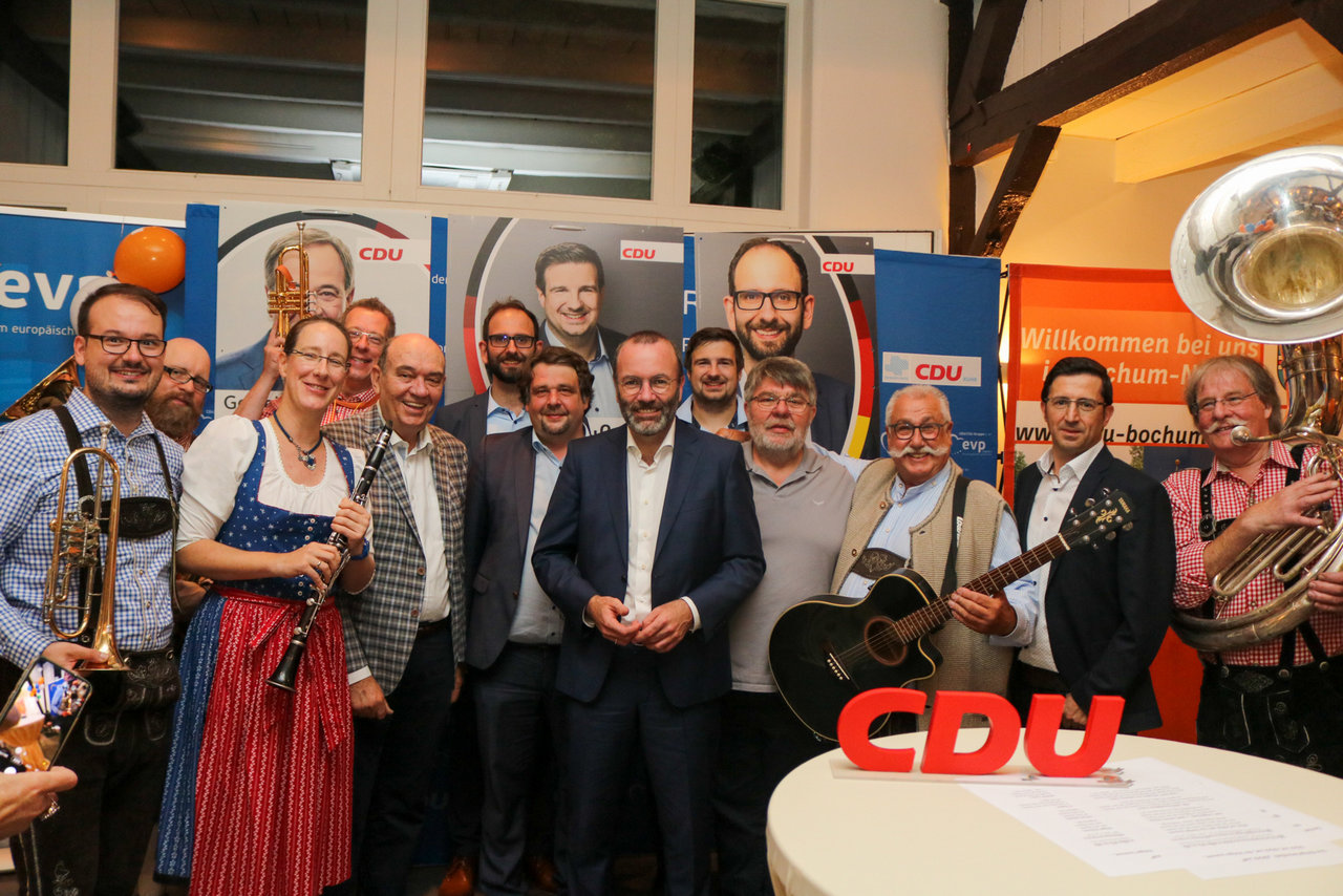 Manfred Weber CDU-Sommerabend