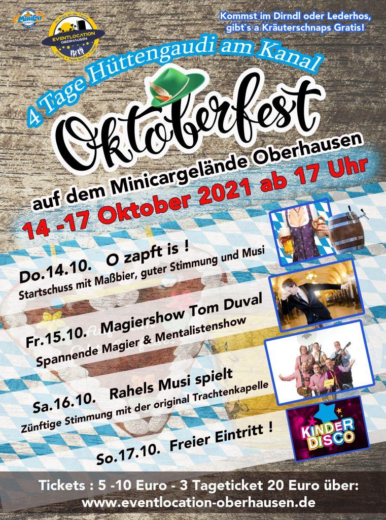 Oktoberfest Oberhausen am 16.10.2021